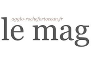 logo de Rochefort Océan La mag