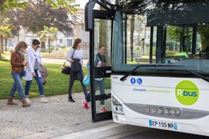 bus du réseau de transport R'bus